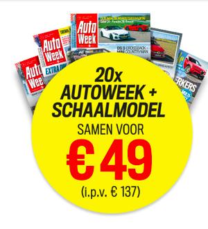 Cadeau bij tijdschrift autoweek