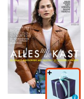 Tijdschrift Elle met cadeau